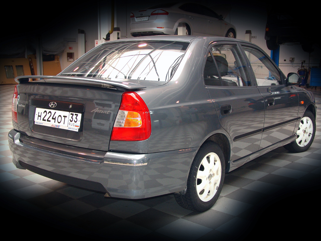Hyundai accent тюнинг фото фото