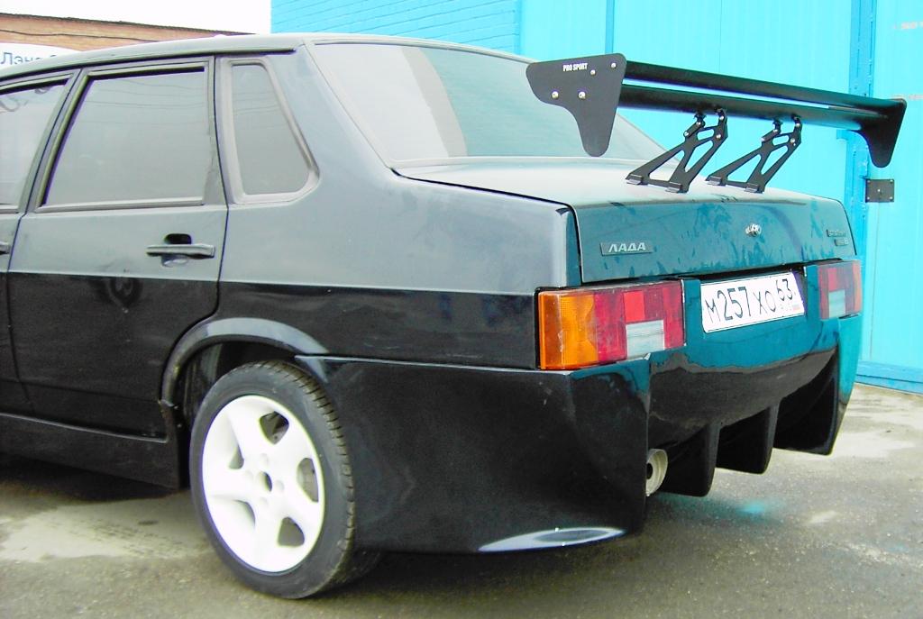 "Тюнинг задний бампер ВАЗ 21099 ""miller"" (МИЛЛЕР) для lada ВАЗ ZA43"